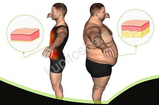 похудеть в 3 раза